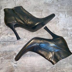Steve Madden Lymlite Metallic Booties